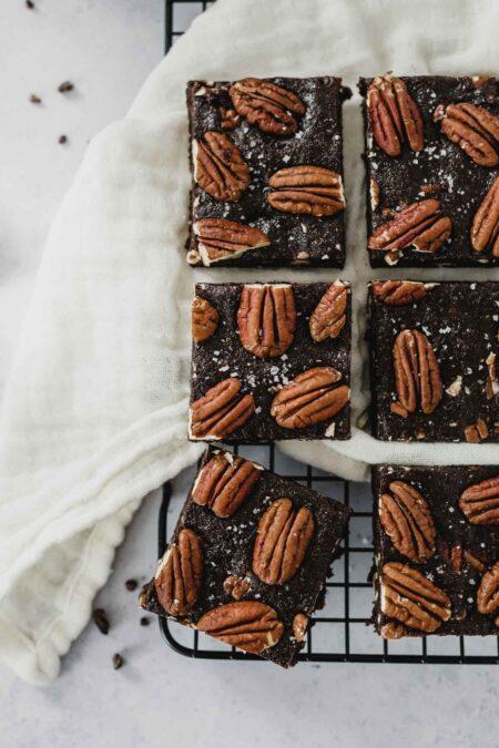 Recette brownie vegan cru noix de pécan